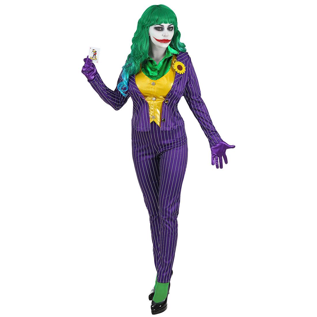 Disfraz Novia Joker para mujer