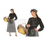 Disfraz Castañera para mujer