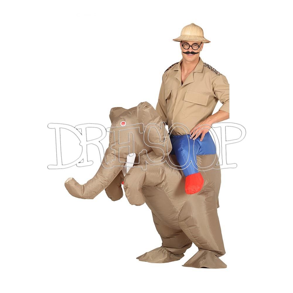 Disfraz Elefante hinchable para hombre
