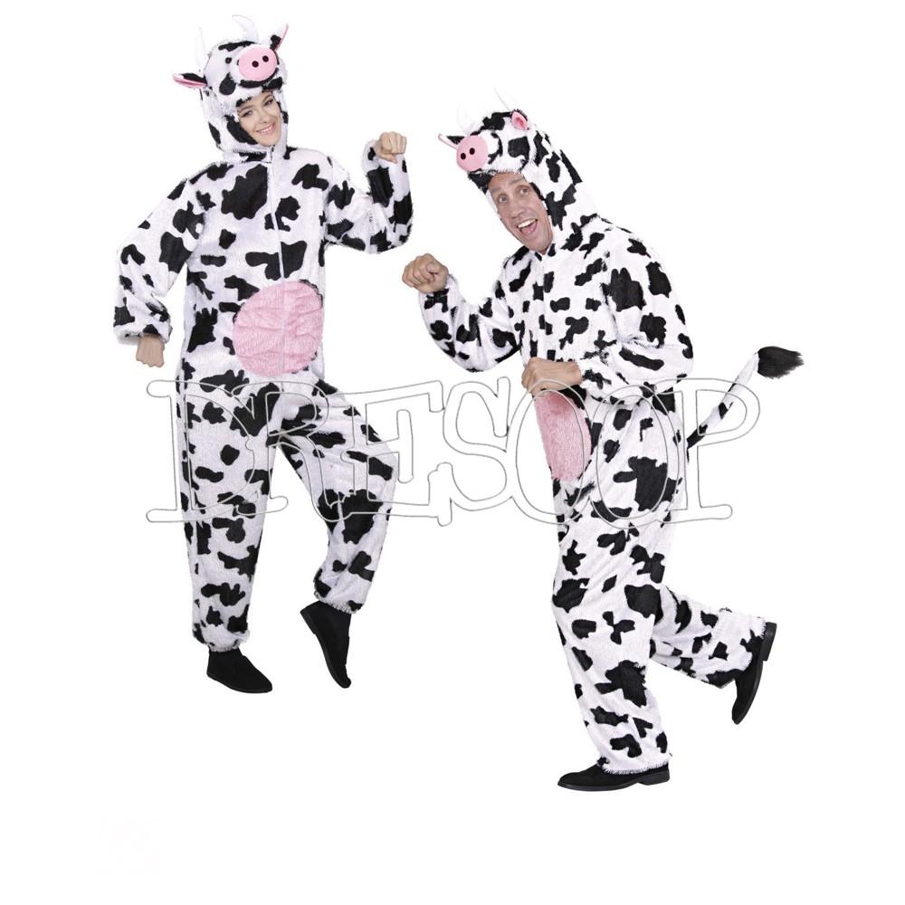 Disfraz Vaca de peluche para adulto