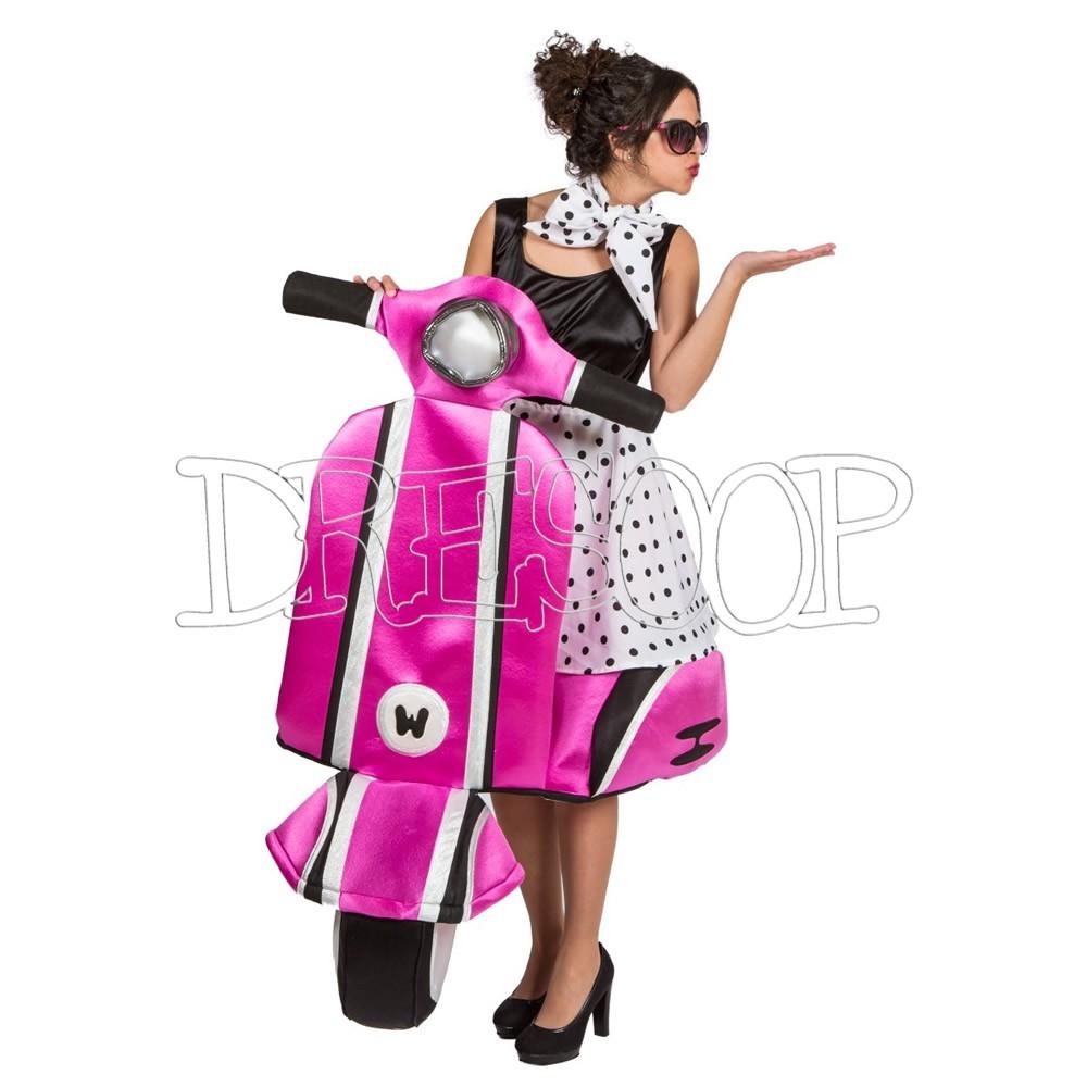 Disfraz Bella en moto para mujer