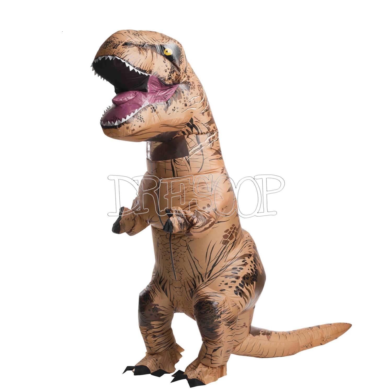 Disfraz hinchable T-Rex para adultos