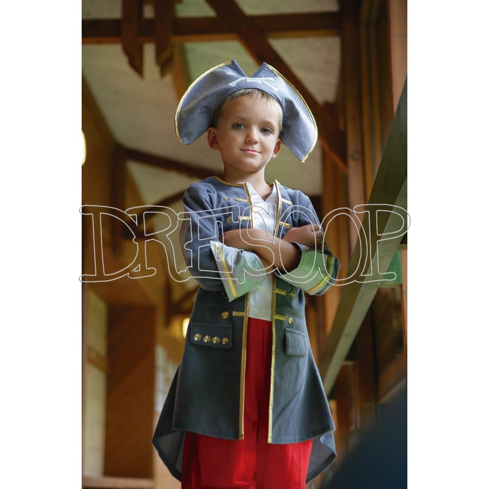 Disfraz Capitán Pirata para niño Travis Designs