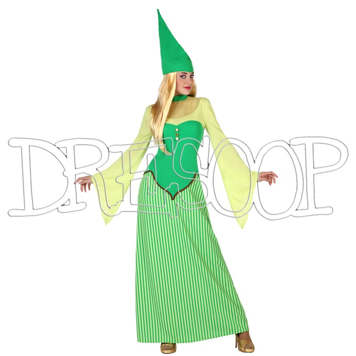 Disfraz duende mujer