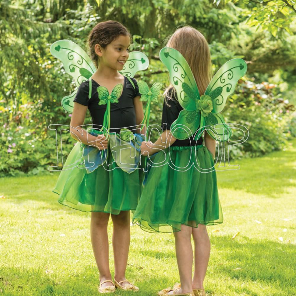 Set Hada verde para niña Travis Designs