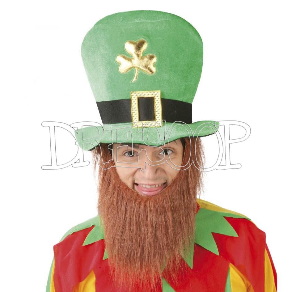Sombrero San Patricio con barba