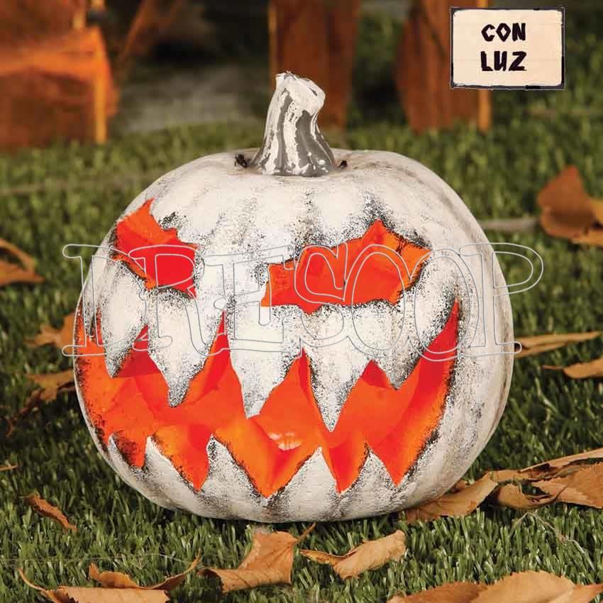 Calabaza Halloween blanca