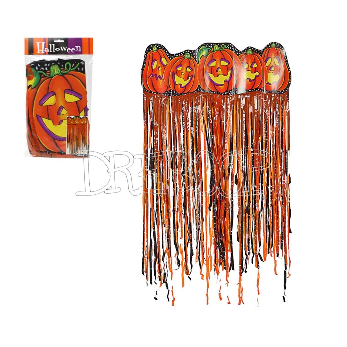 Cortina Calabazas para Halloween