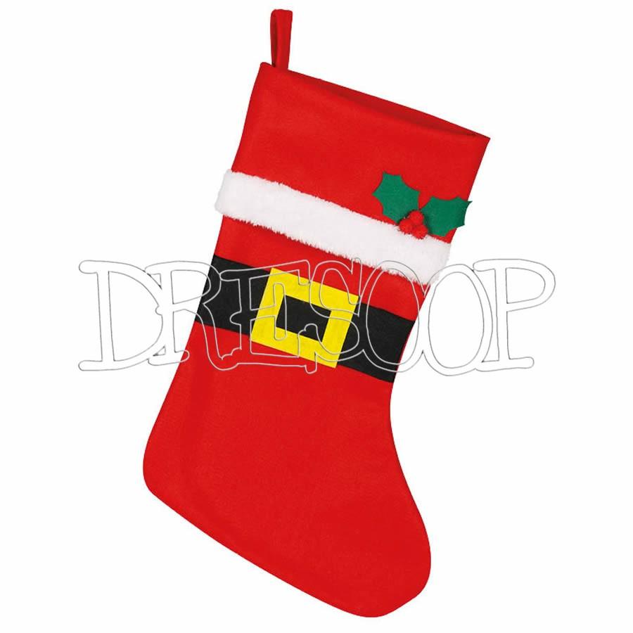 Bota Papá Noel clásica