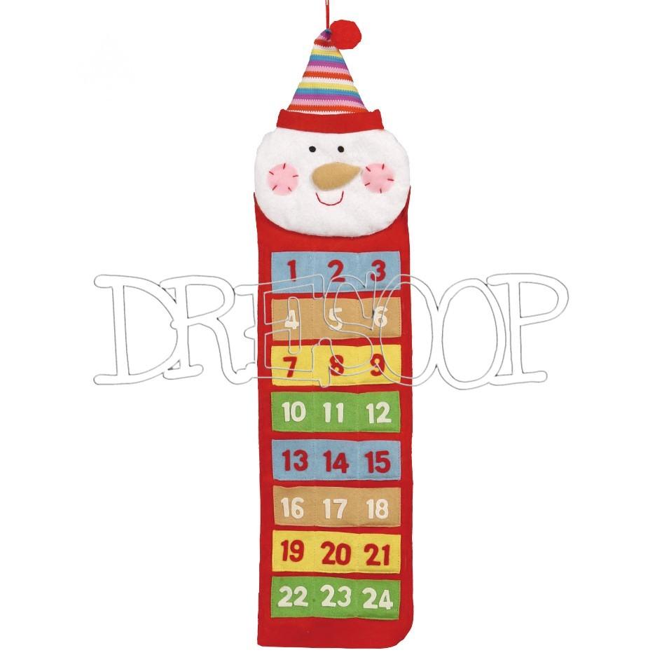 Calendario Adviento muñeco