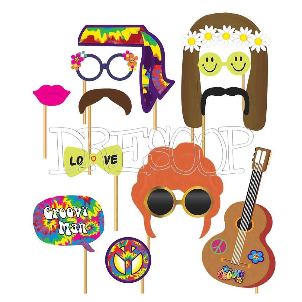 Complementos Photocall fiesta Hippie