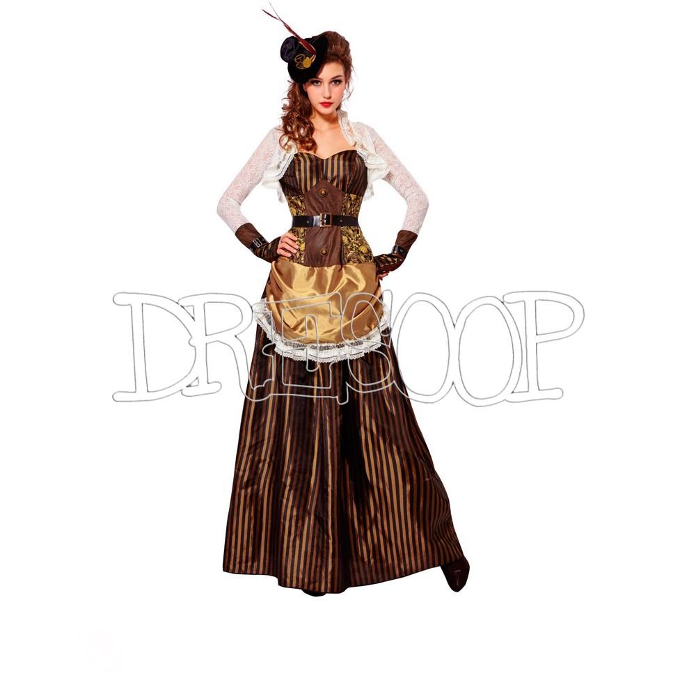 Disfraz Munitia Steampunk para mujer