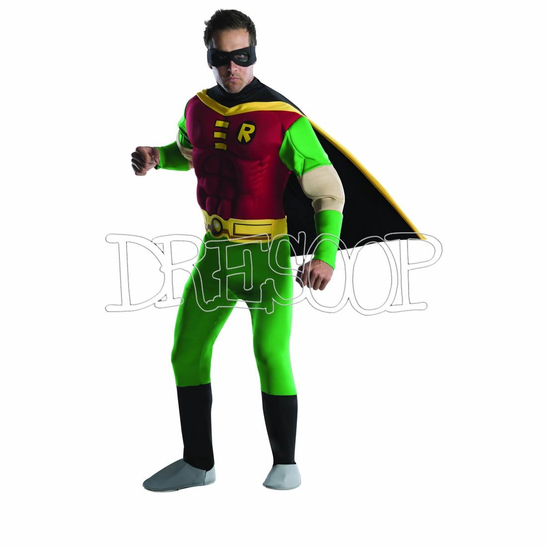 Disfraz Robin Musculoso para hombre