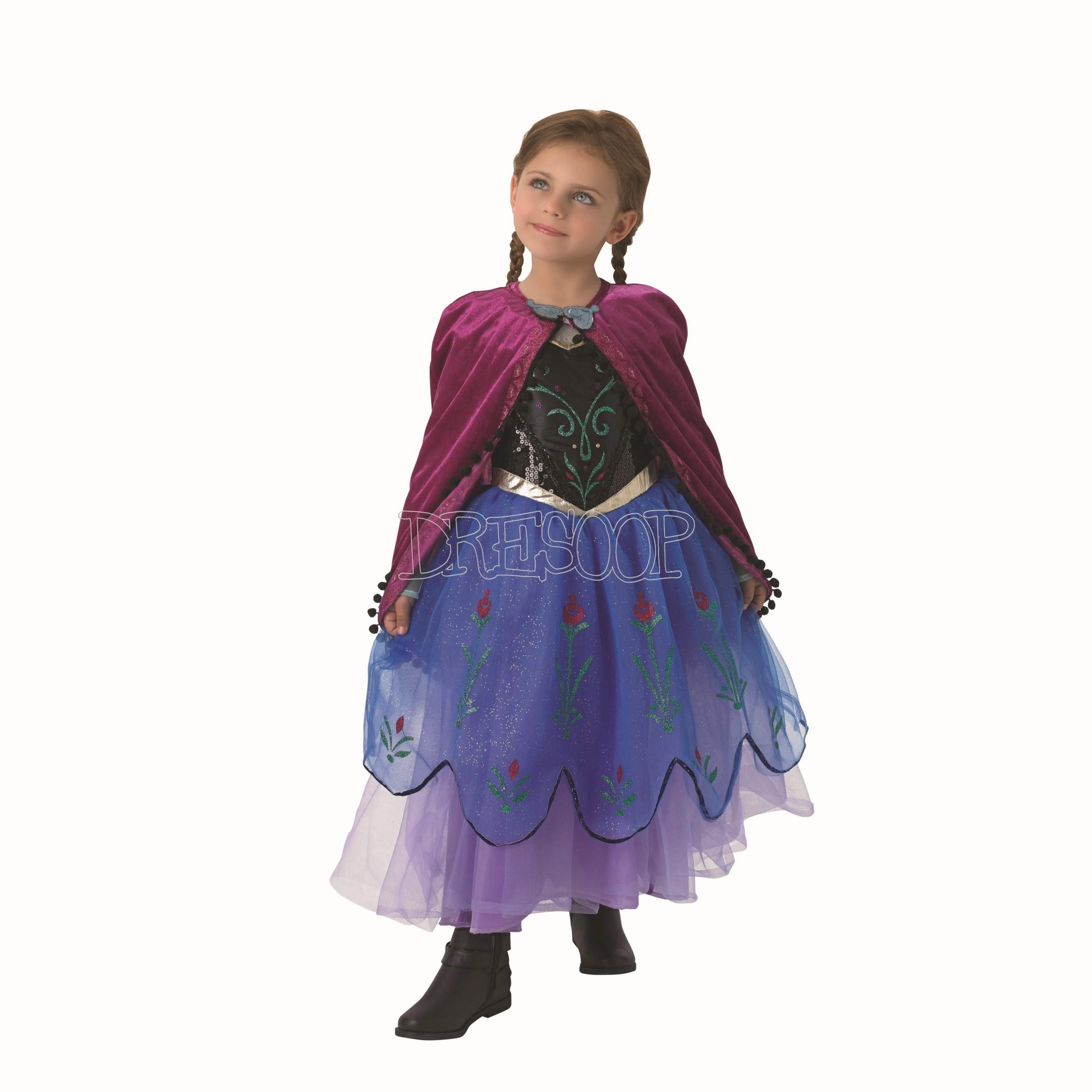 Disfraz Anna Premium para niña