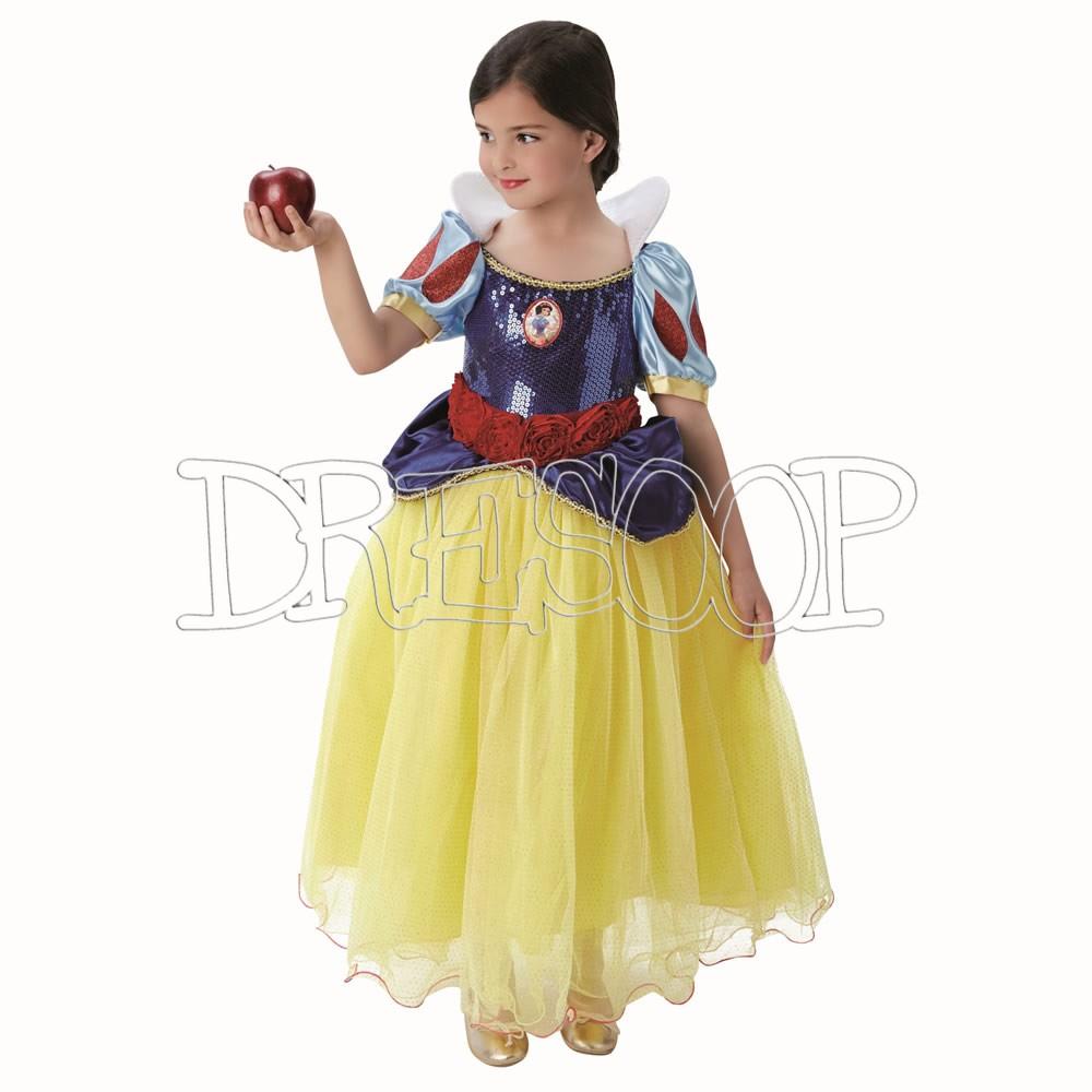 Disfraz Blancanieves Premium para niña