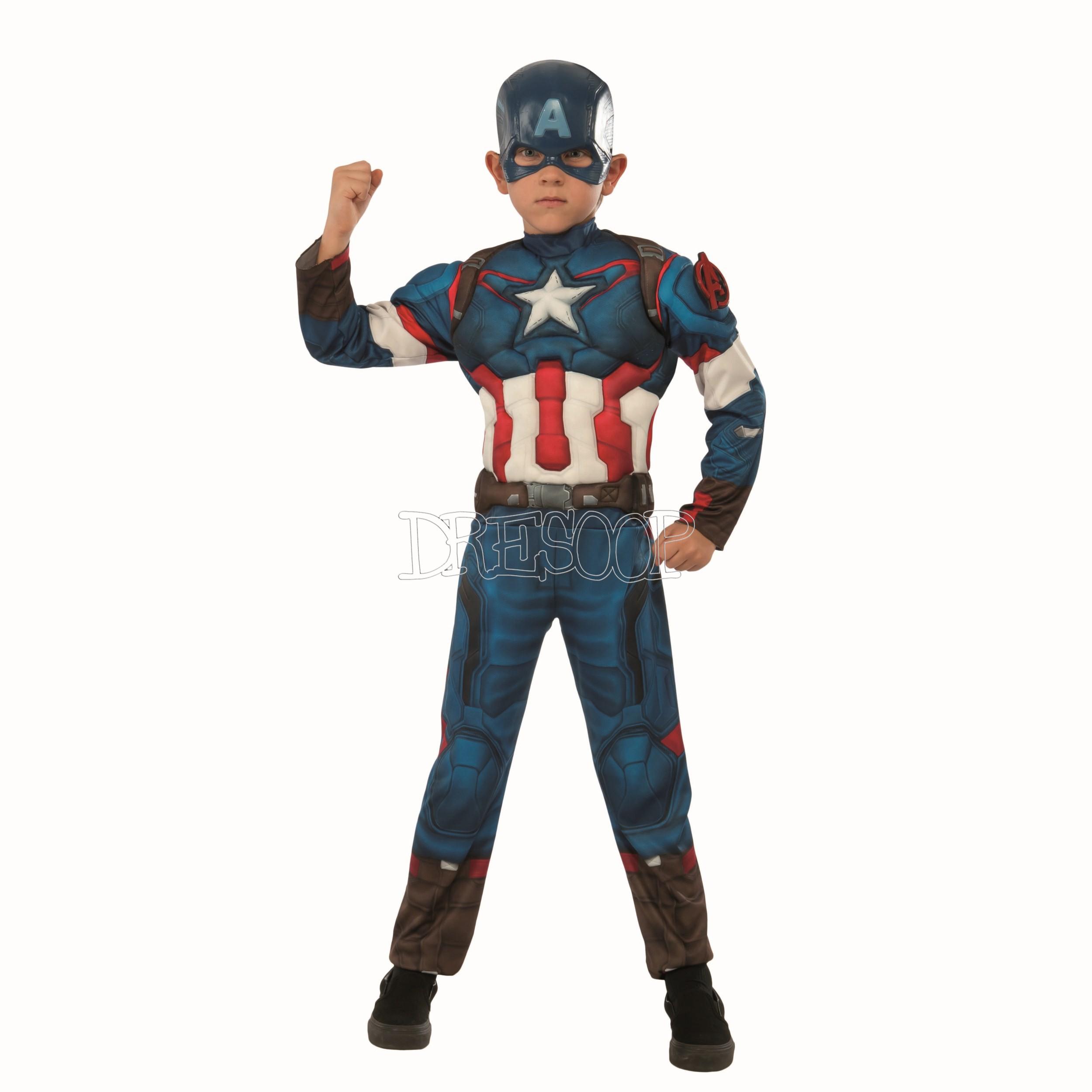 Disfraz Capitán América deluxe para niño
