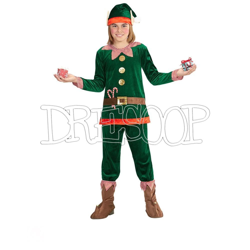 Disfraz Elfo Navidad para niño