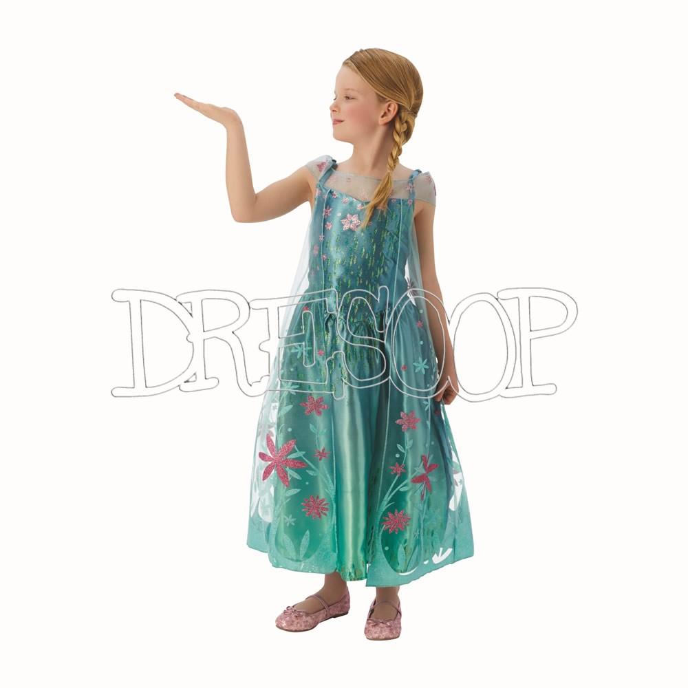 Disfraz Elsa Forever Deluxe para niña