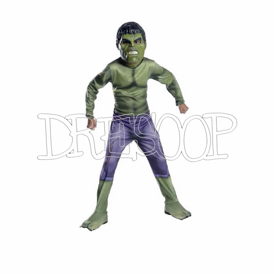 Disfraz Hulk classic Av2 para niño