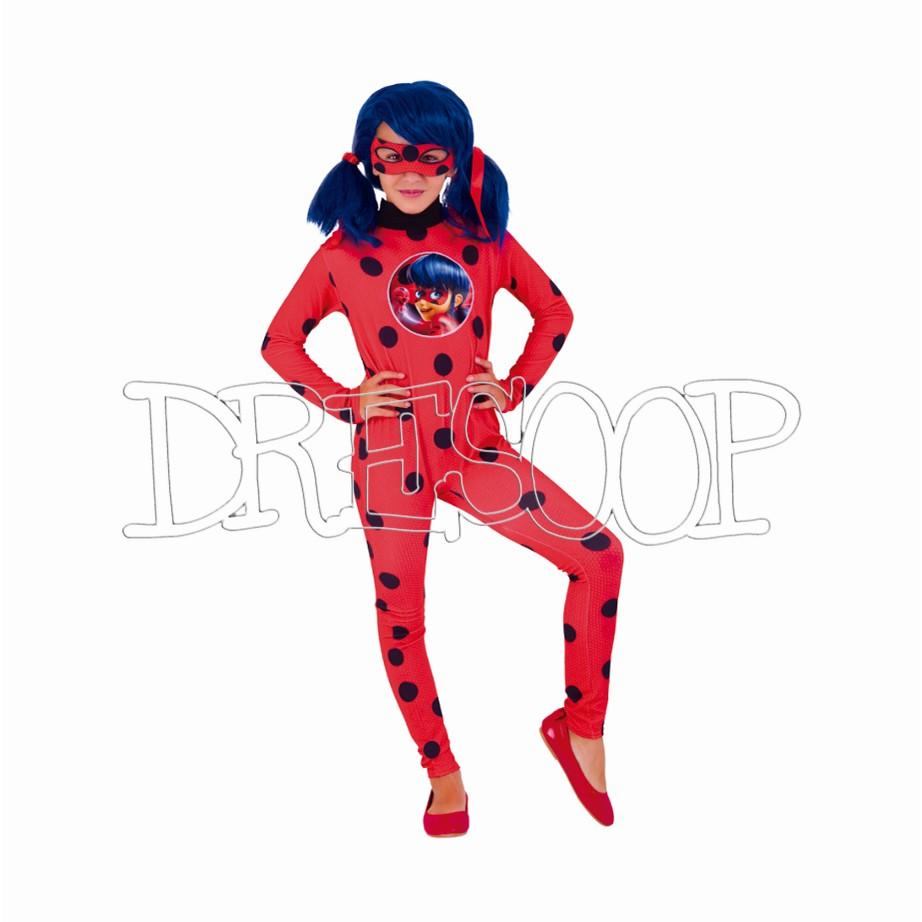 Disfraz Ladybug clasic para niña