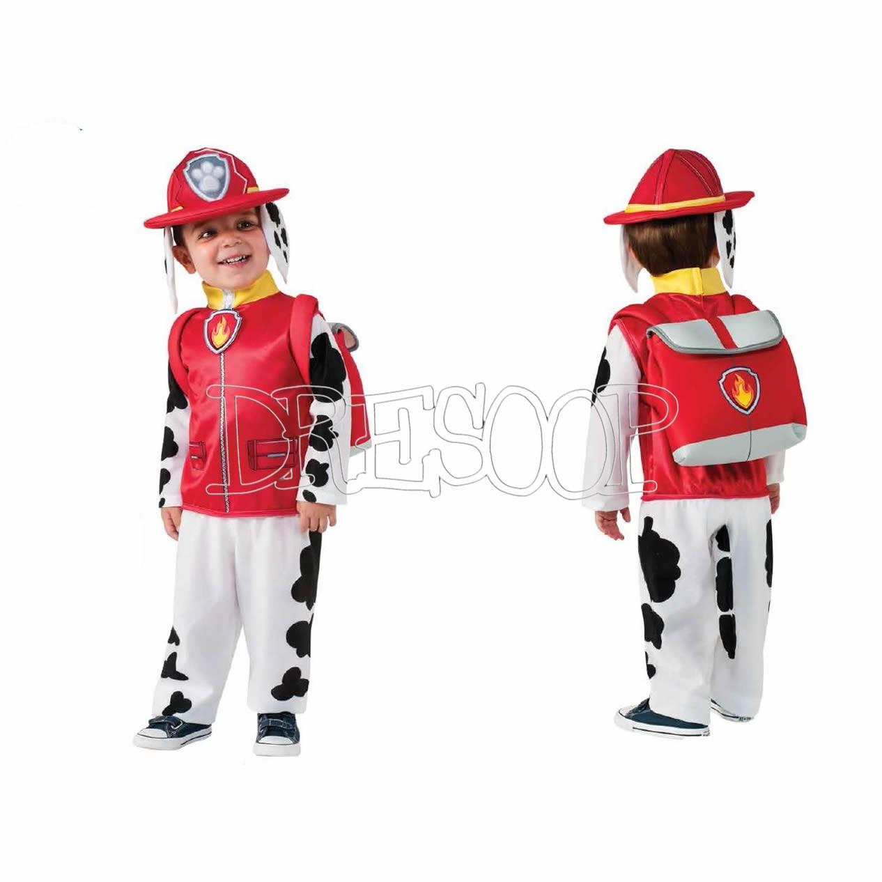 Disfraz Marshall de Paw Patrol para niño