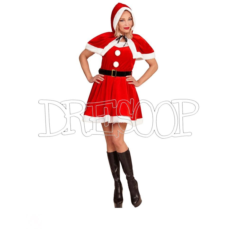 Disfraz Miss Santa para mujer