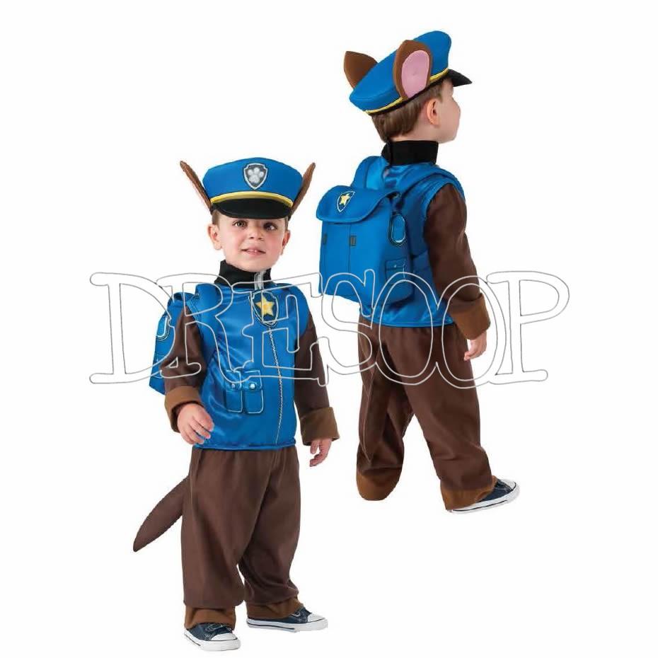 Disfraz Policía Chase de Paw Patrol para niño