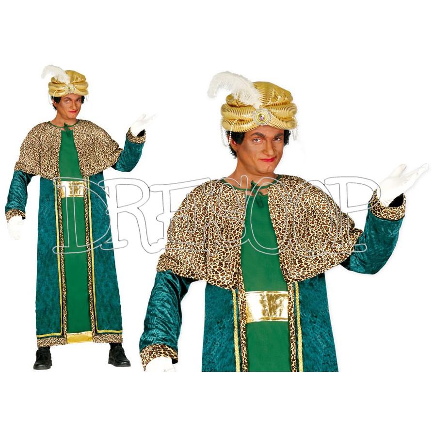 Disfraz Rey Mago Baltasar para hombre