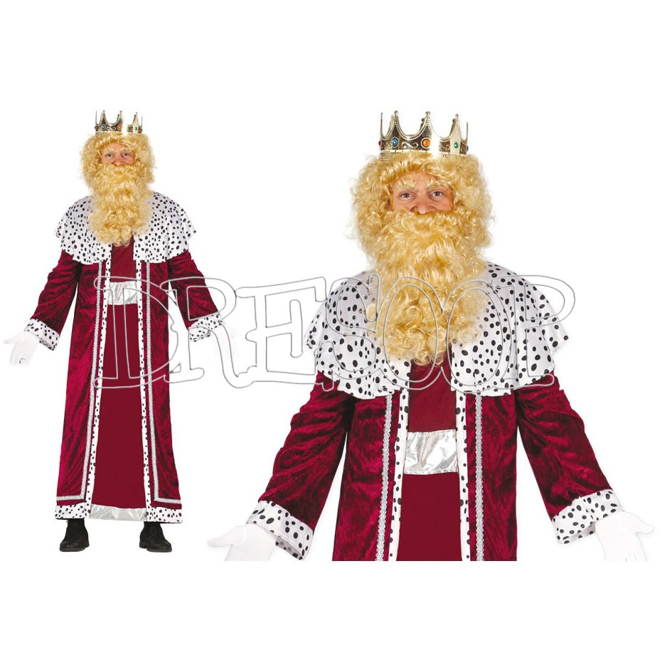 Disfraz Rey Mago Gaspar para hombre