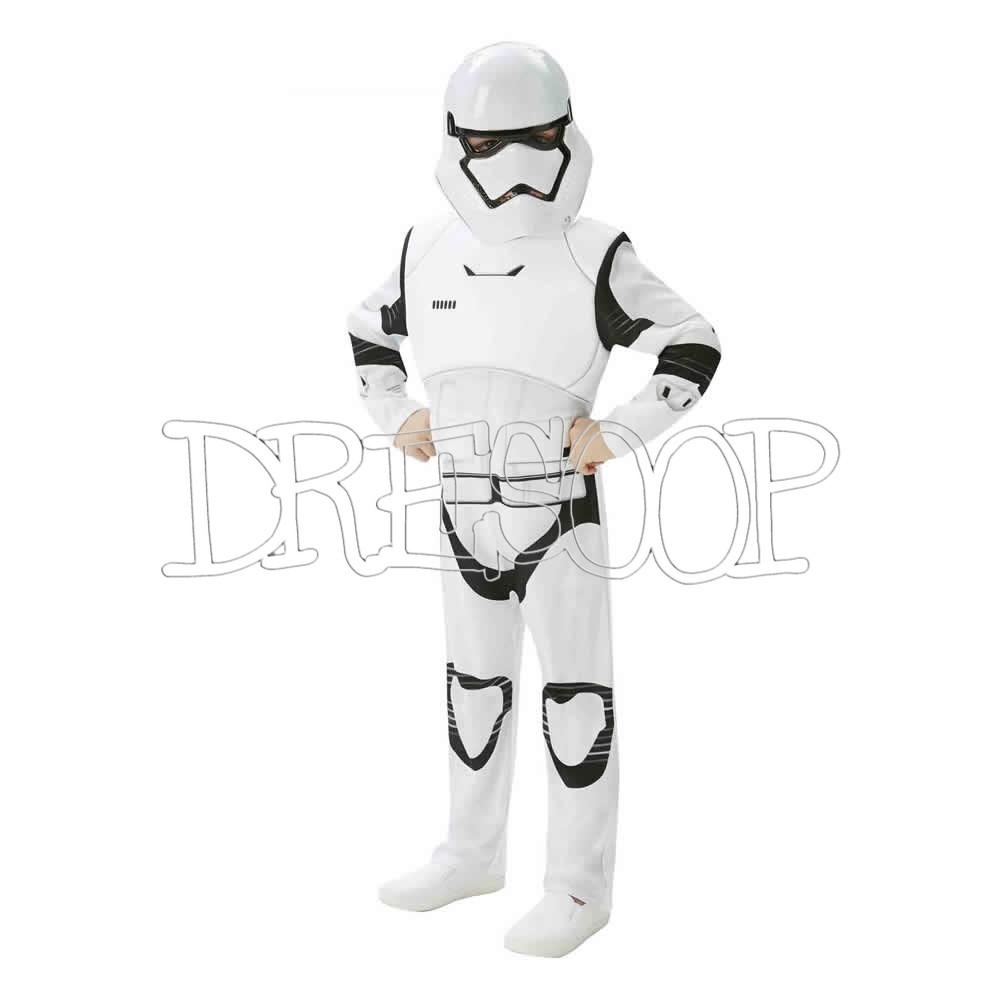 Disfraz Stormtrooper Ep7 deluxe para niño