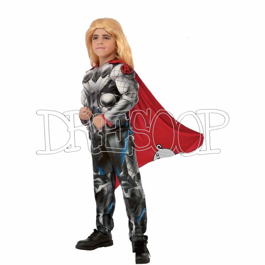 Disfraz Thor deluxe para niño