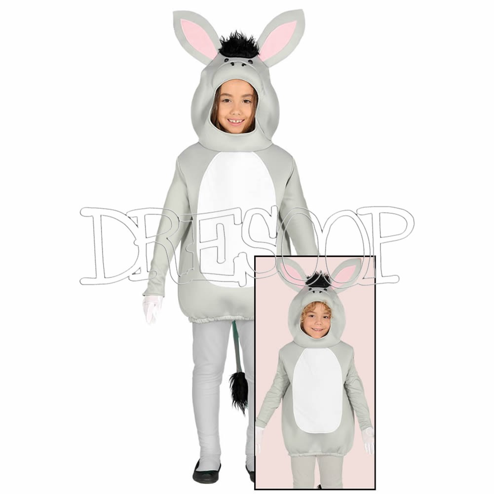 Disfraz de Burro para niños