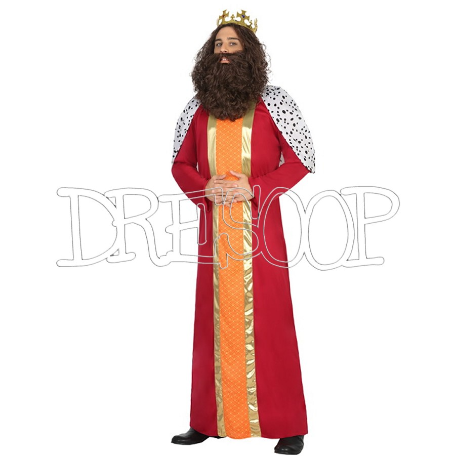 Disfraz de Reyes Magos Gaspar para hombre