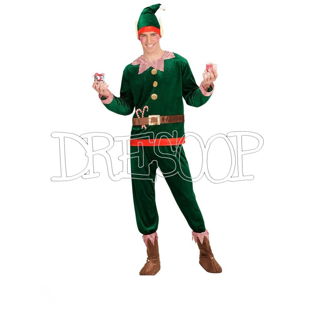 Disfraz el Elfo de Navidad para hombre