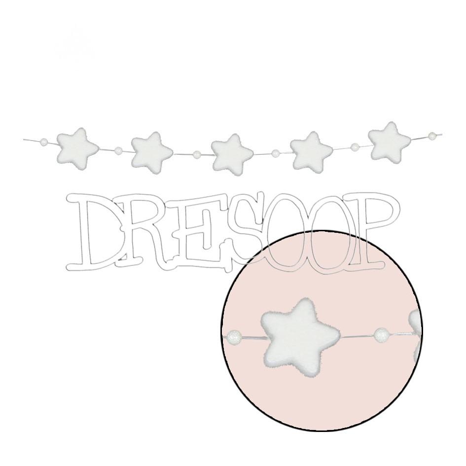 Guirnalda Estrellas nieve