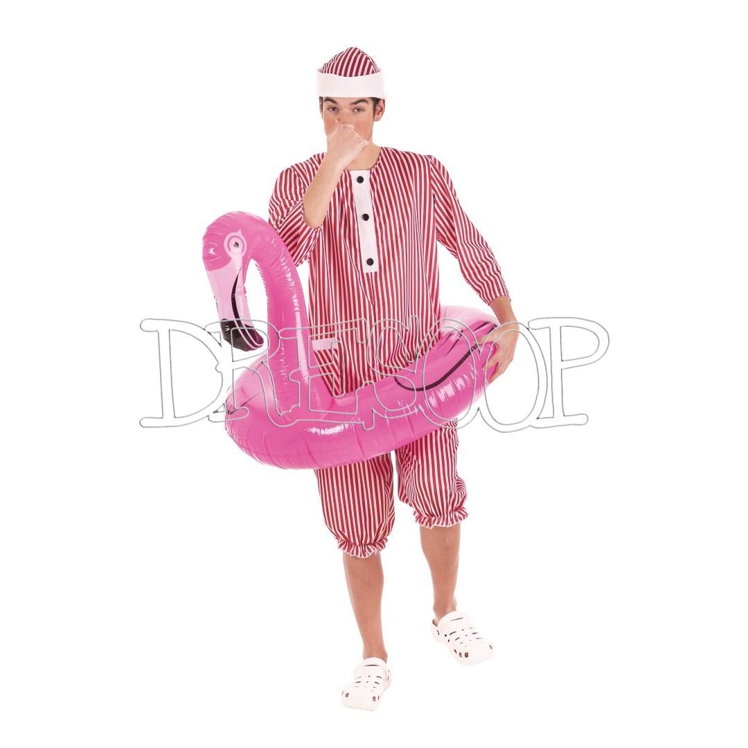 Disfraz Bañista clásico para hombre