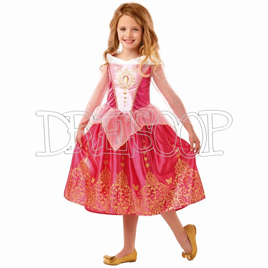Disfraz Bella Durmiente Classic delux para niña
