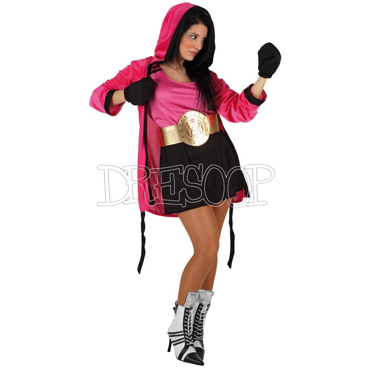 Disfraz Boxeadora para mujer