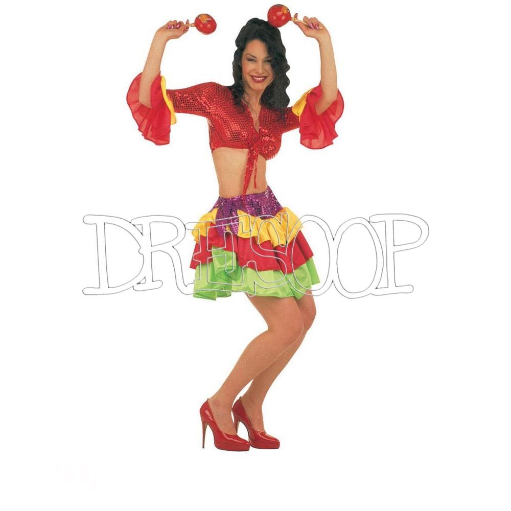 Disfraz Brasileña para mujer