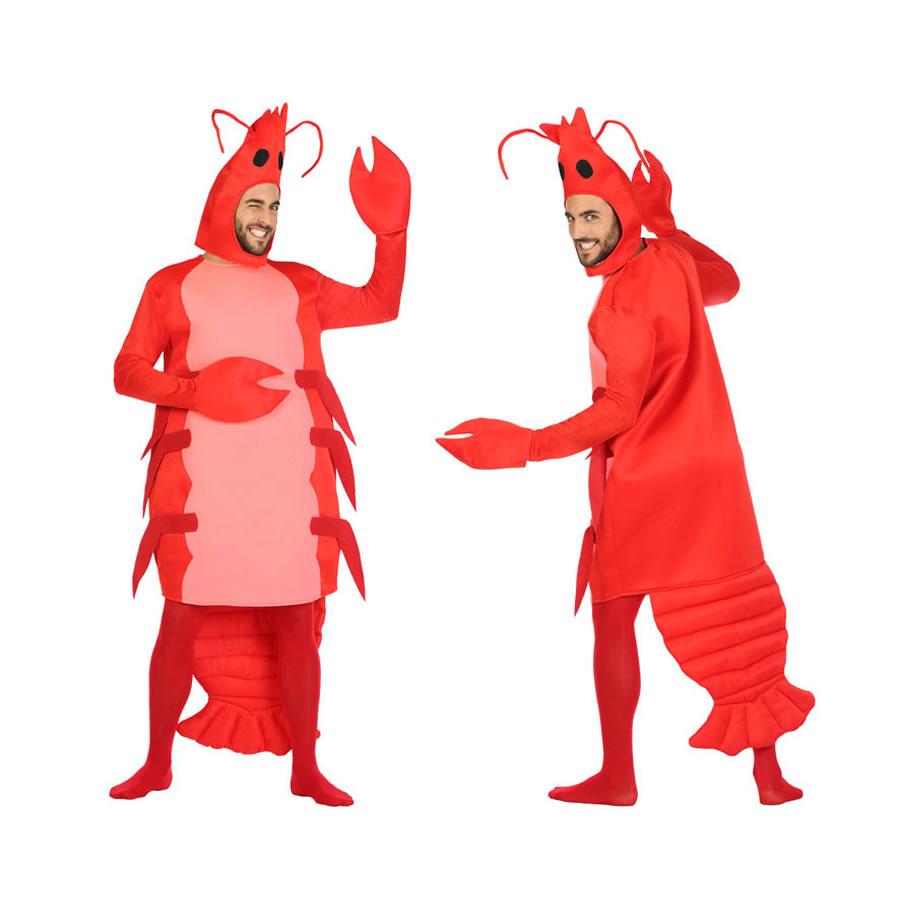 Disfraz Gamba roja para hombre