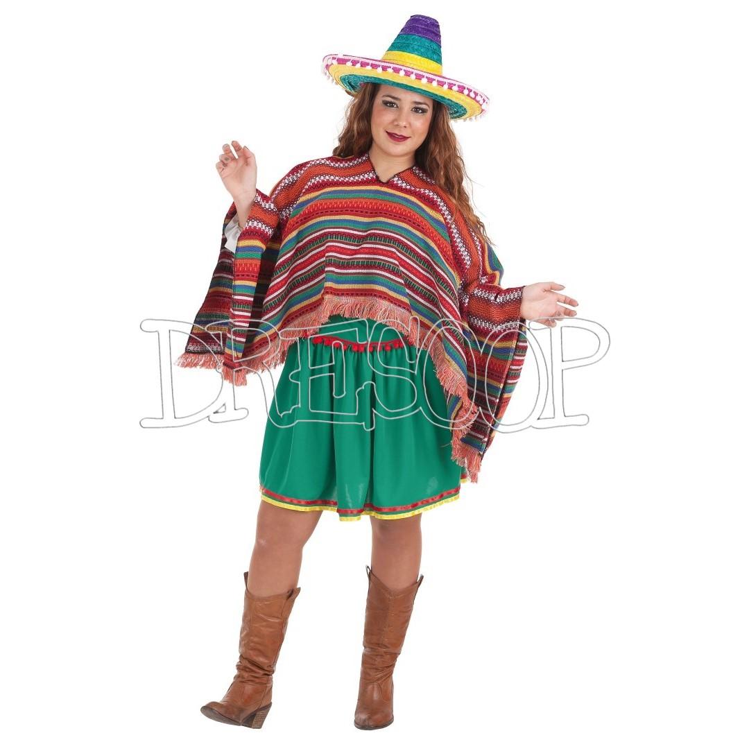 Disfraz Mexicana Juana para mujer
