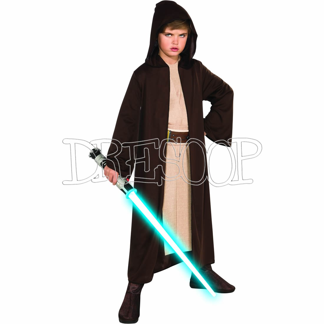Disfraz Túnica Jedi classic para niño