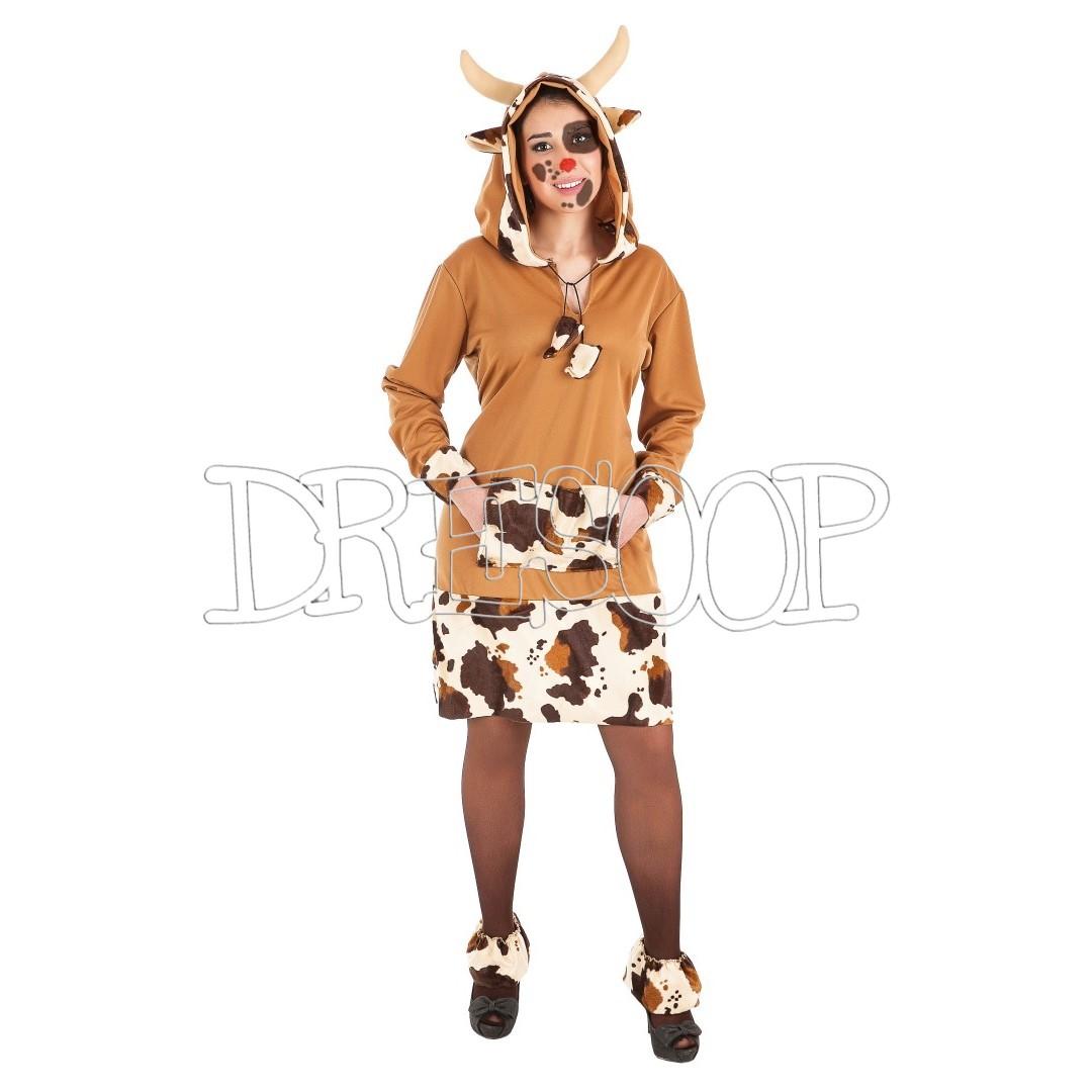Disfraz Vaca mimosa para mujer