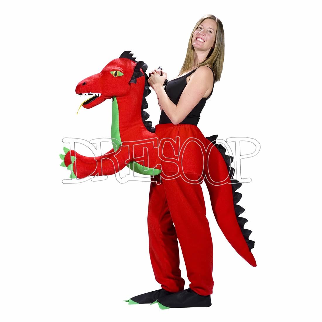Disfraz cabalga Dragón para mujer