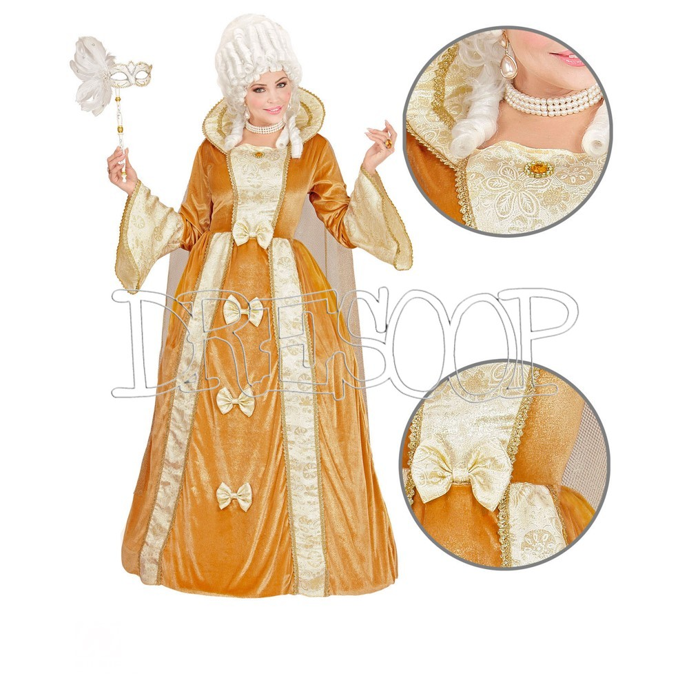 Disfraz de Aristócrata Veneciana para mujer