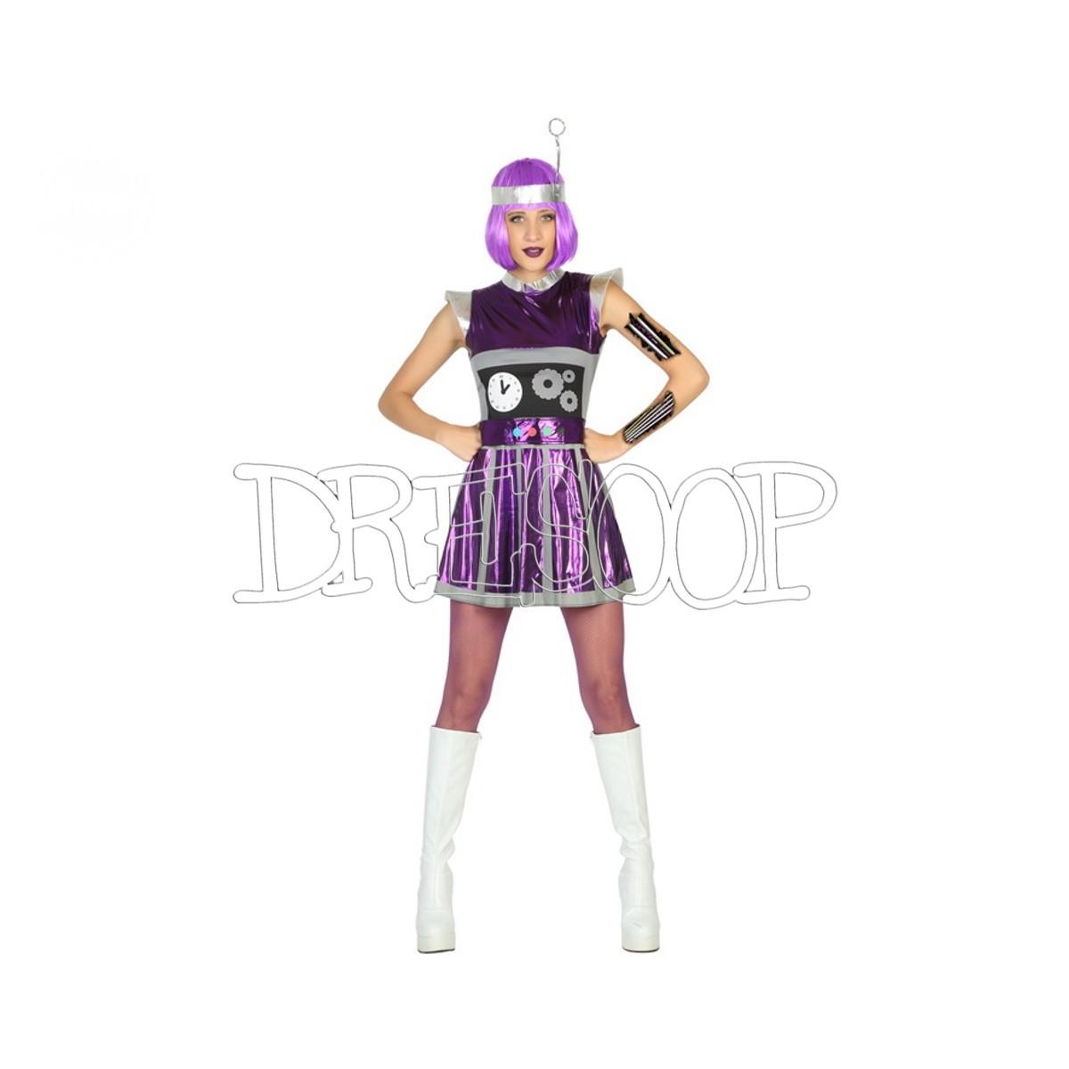 Disfraz de Robot para mujer