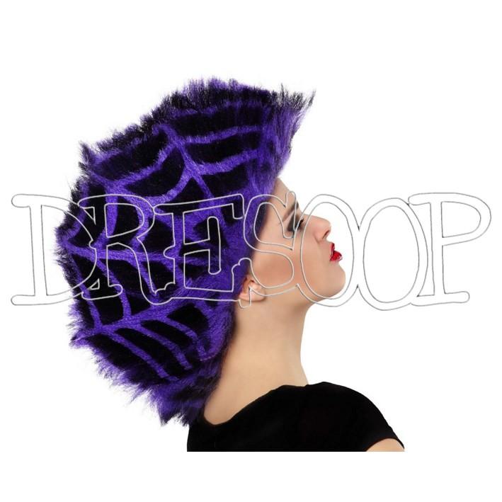 Peluca Telaraña Púrpura