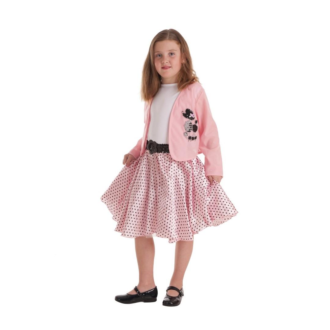 Disfraz Años 50 para niña