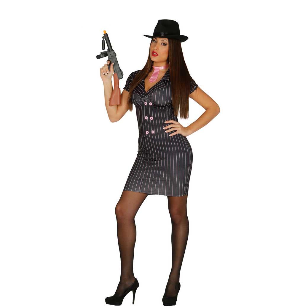Disfraz Chica Gangster Sexy