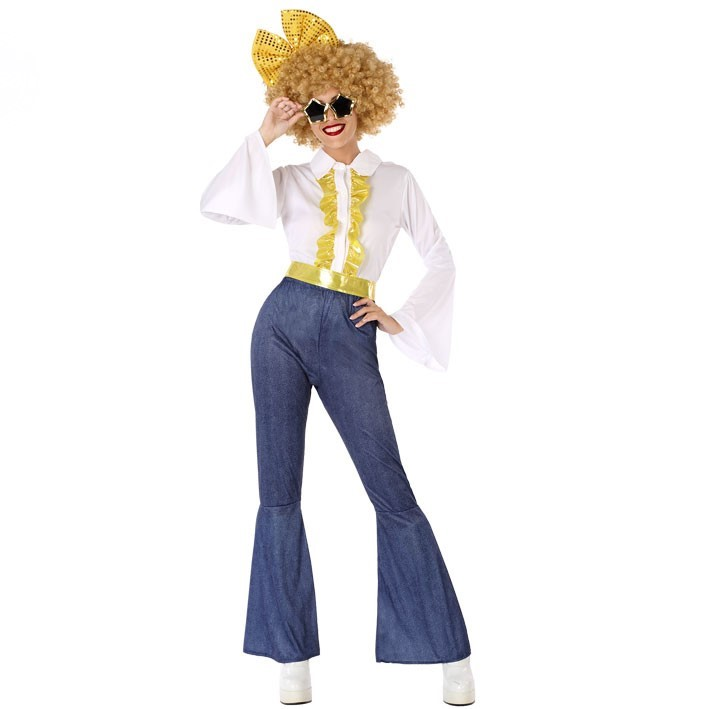 Disfraz Disco fever 70´s para mujer